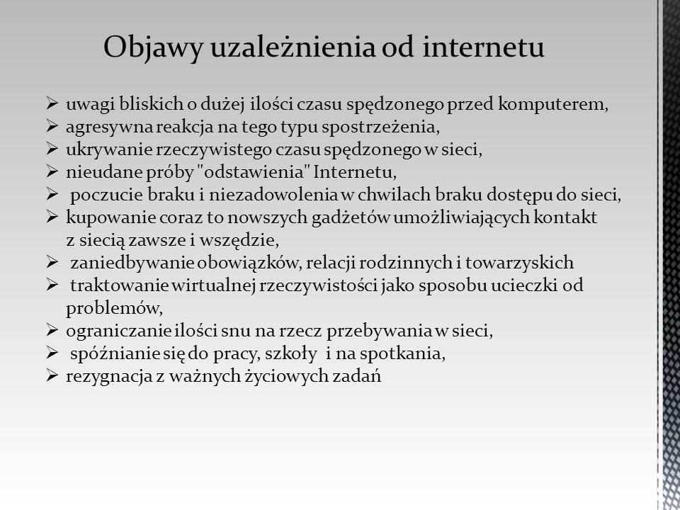 Objawy uzależnienia od internetu