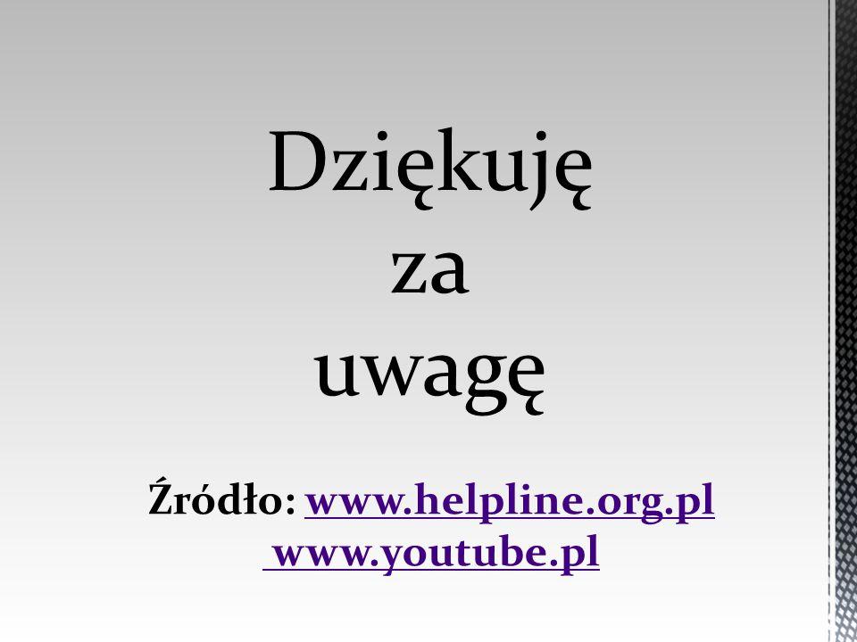 Źródło: www.helpline.org.pl
