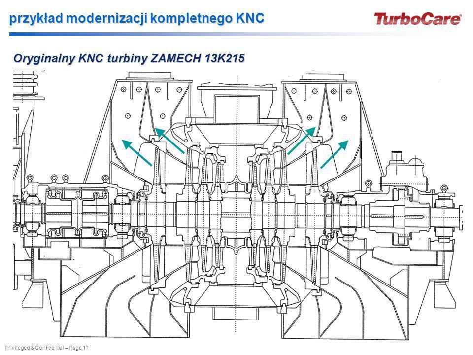 przykład modernizacji kompletnego KNC