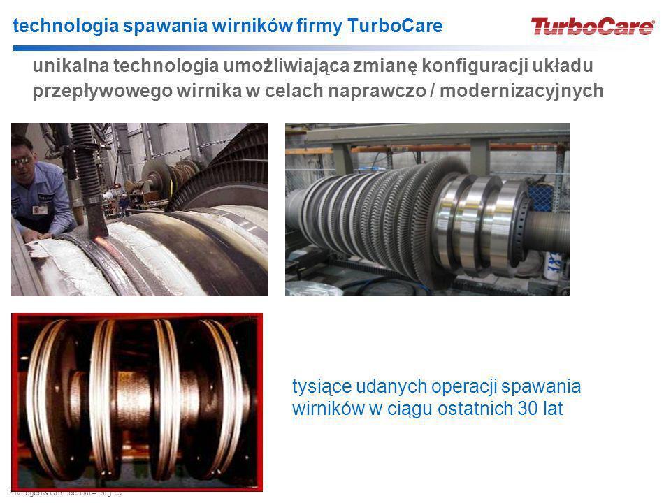 technologia spawania wirników firmy TurboCare