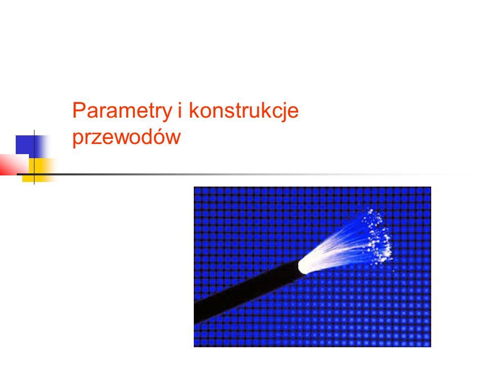 Parametry i konstrukcje przewodów