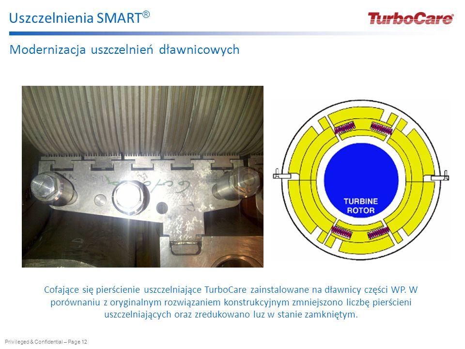 Uszczelnienia SMART® Modernizacja uszczelnień dławnicowych