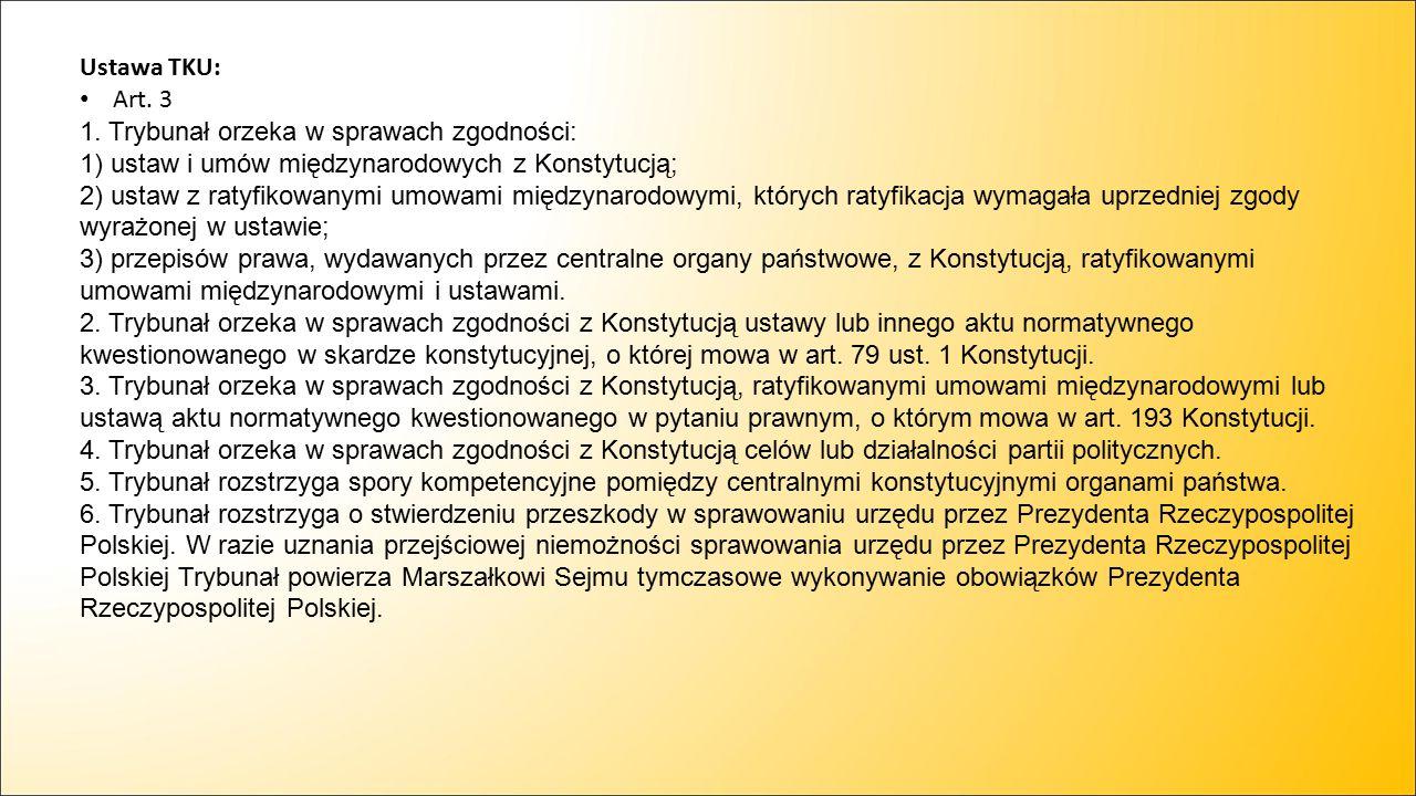 Ustawa TKU: Art. 3.