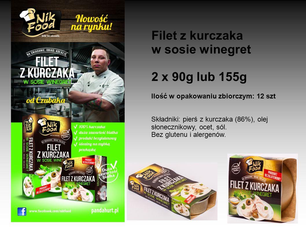Filet z kurczaka w sosie winegret 2 x 90g lub 155g