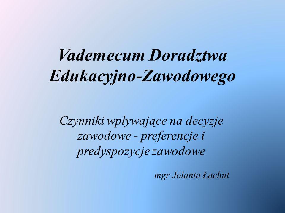 Vademecum Doradztwa Edukacyjno-Zawodowego