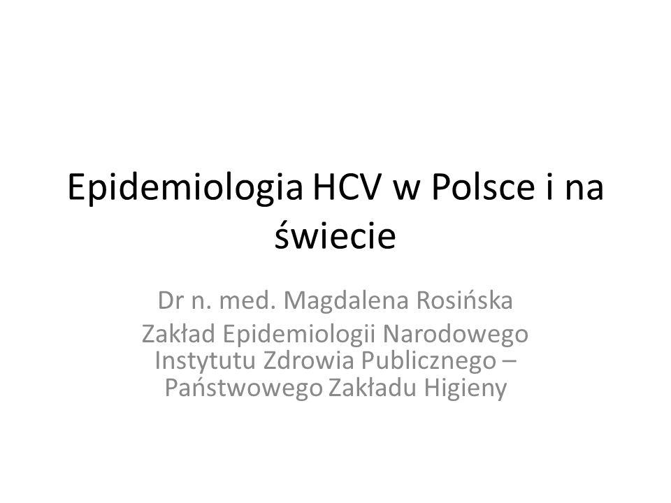 Epidemiologia HCV w Polsce i na świecie