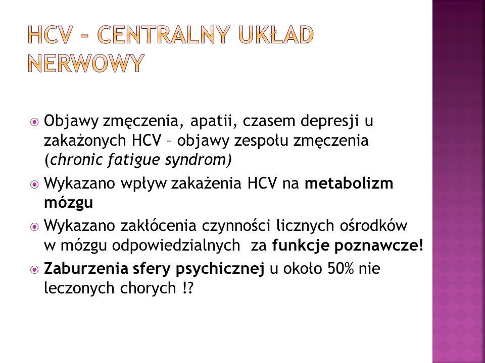 HCV – Centralny układ nerwowy