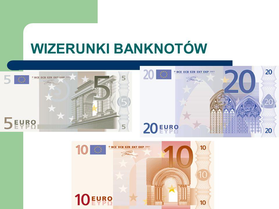 WIZERUNKI BANKNOTÓW