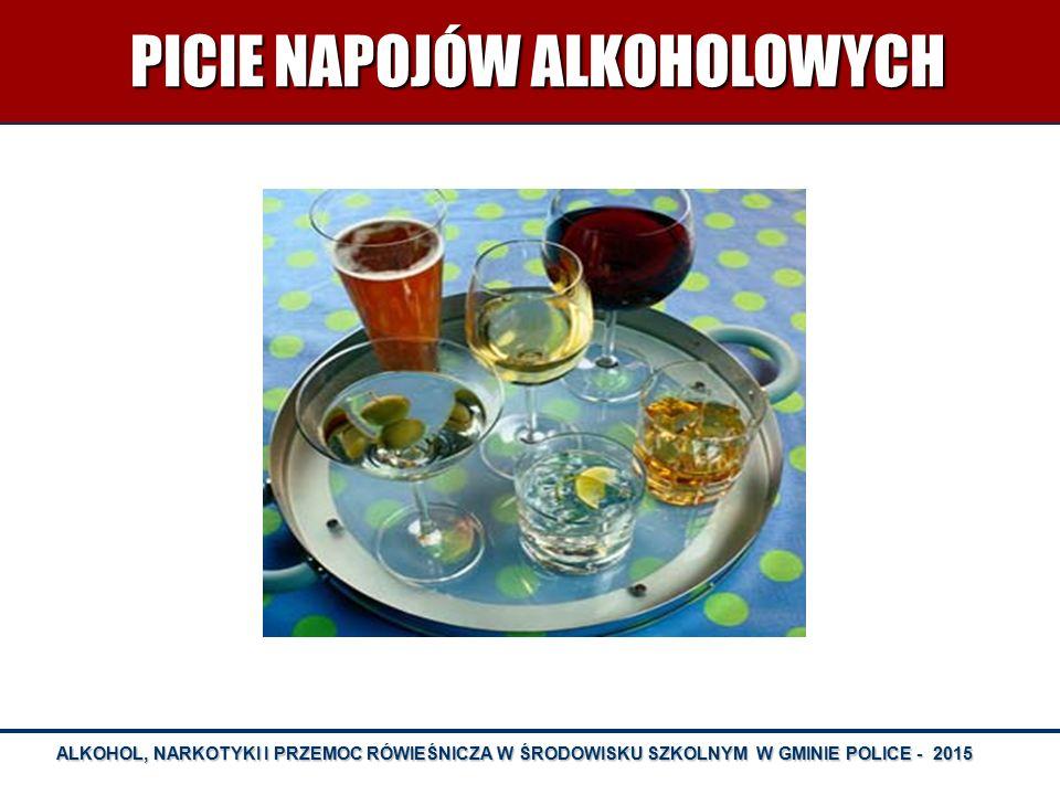 PICIE NAPOJÓW ALKOHOLOWYCH