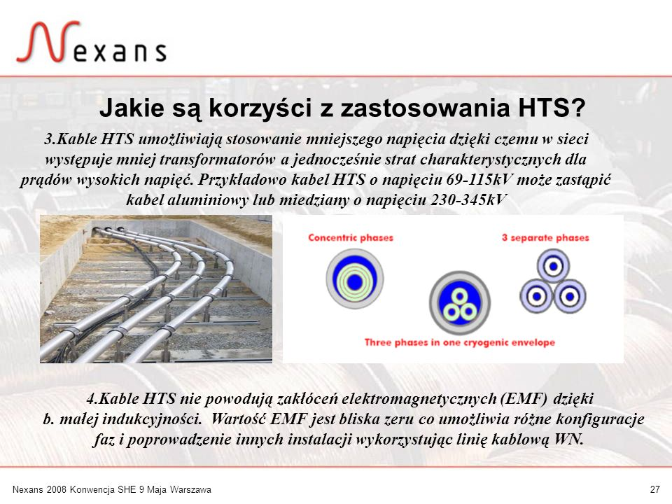 Jakie są korzyści z zastosowania HTS