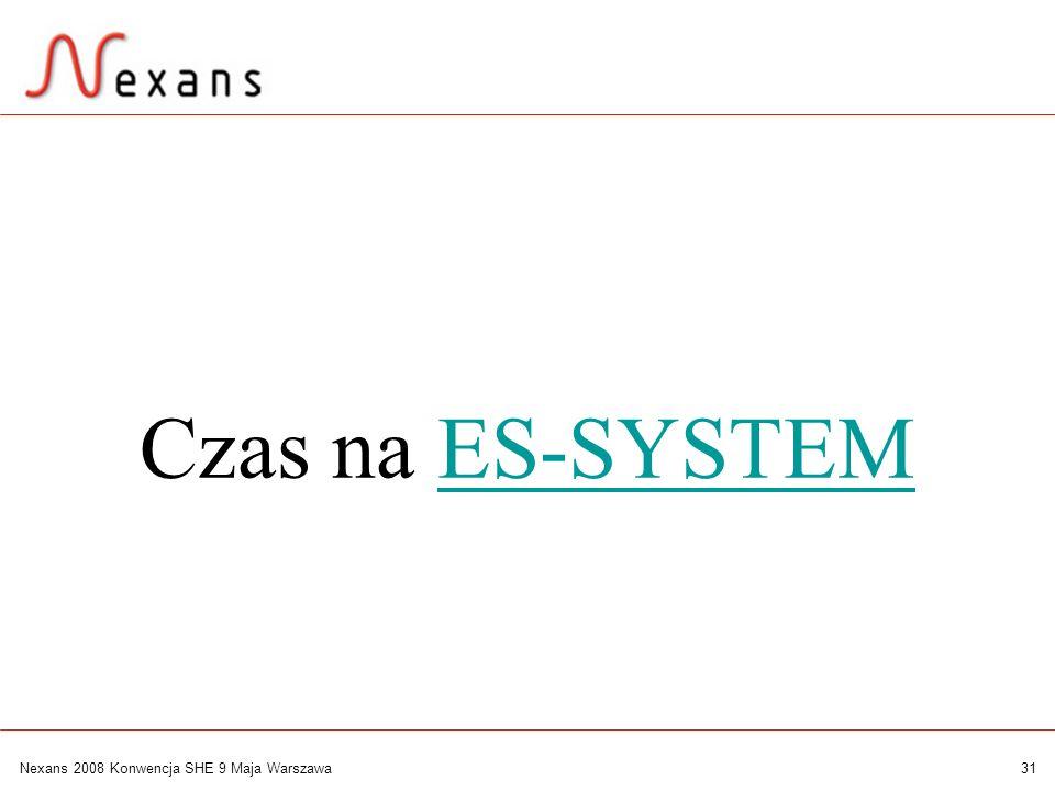 Czas na ES-SYSTEM