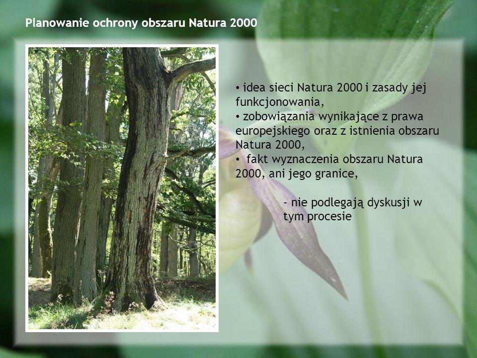 Planowanie ochrony obszaru Natura 2000