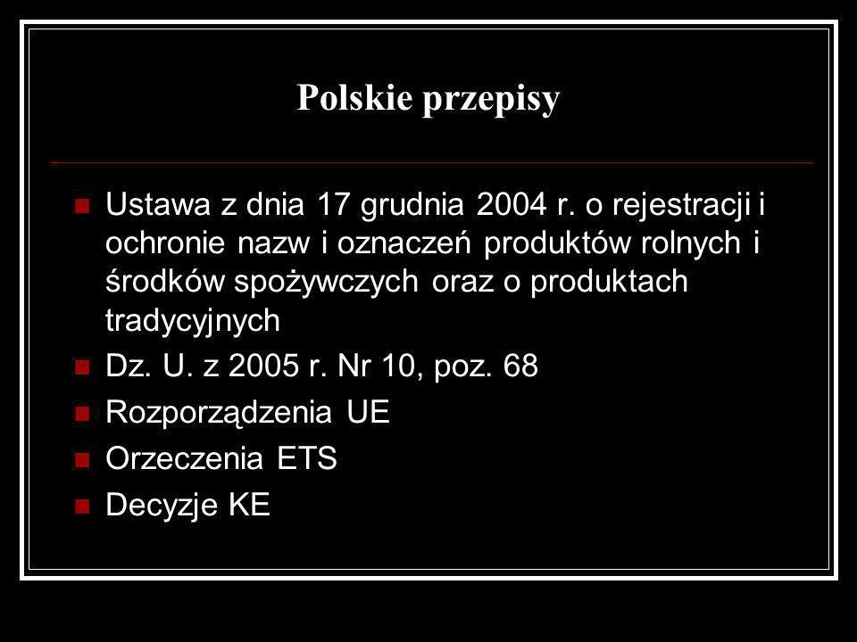 Polskie przepisy