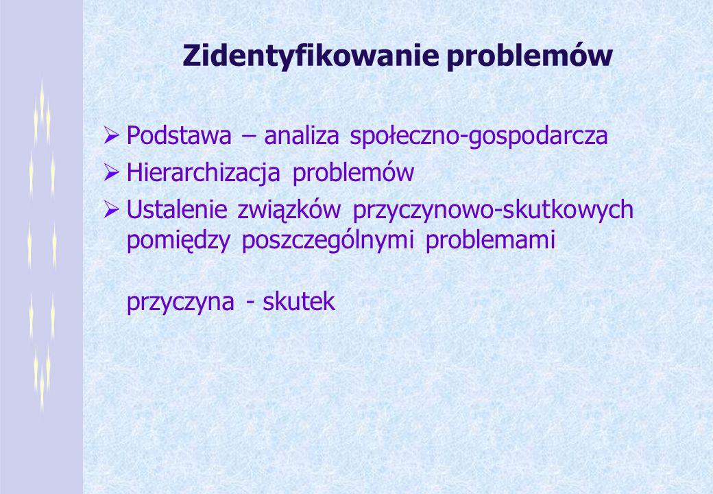 Zidentyfikowanie problemów