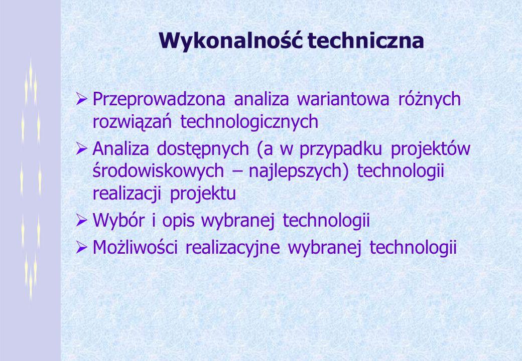 Wykonalność techniczna