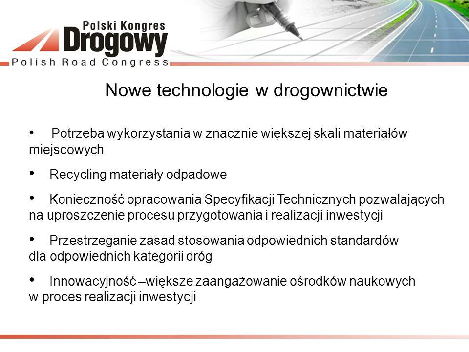 Nowe technologie w drogownictwie