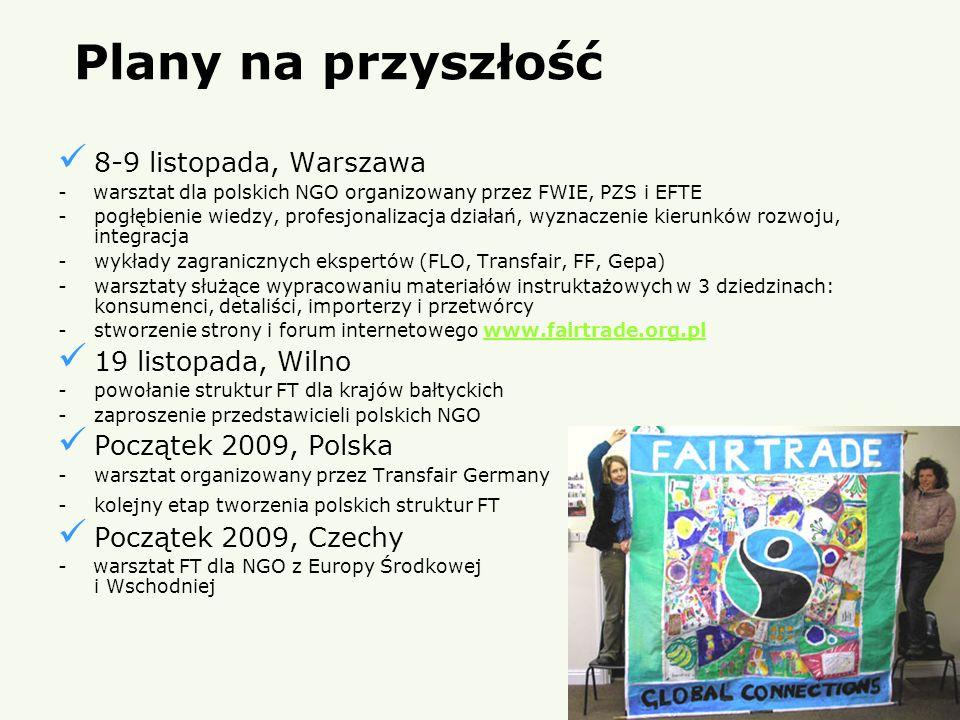 Plany na przyszłość 8-9 listopada, Warszawa 19 listopada, Wilno