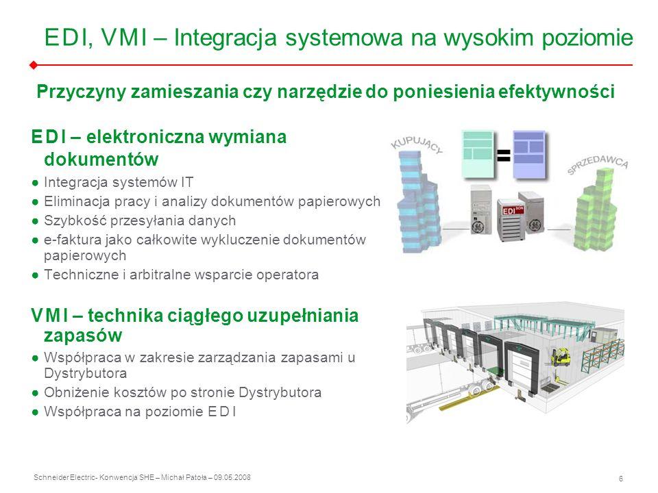 E D I, V M I – Integracja systemowa na wysokim poziomie