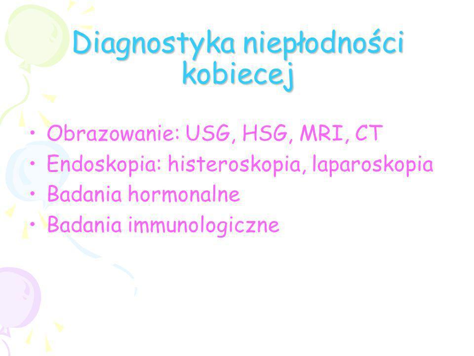 Diagnostyka niepłodności kobiecej