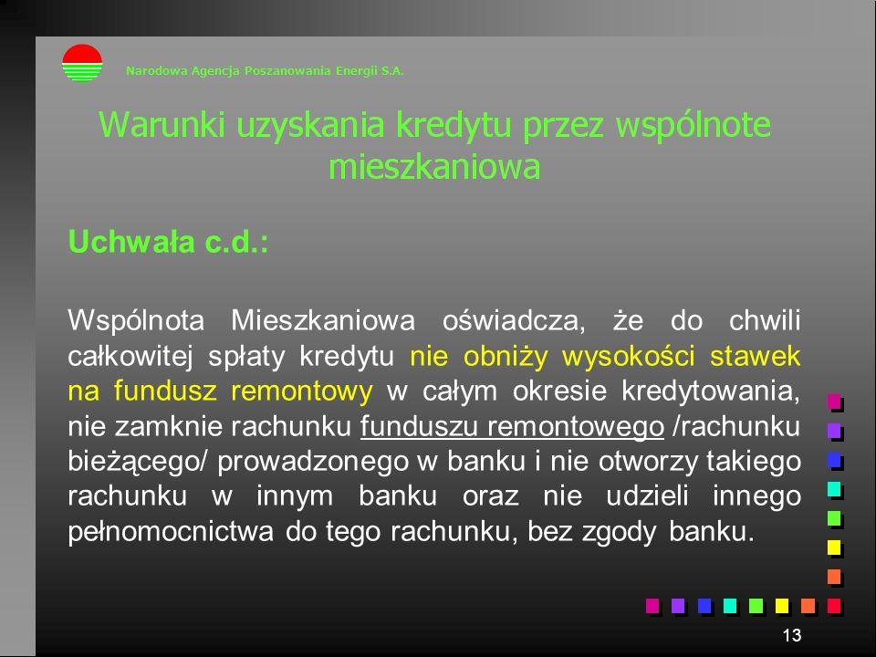 Narodowa Agencja Poszanowania Energii S.A.