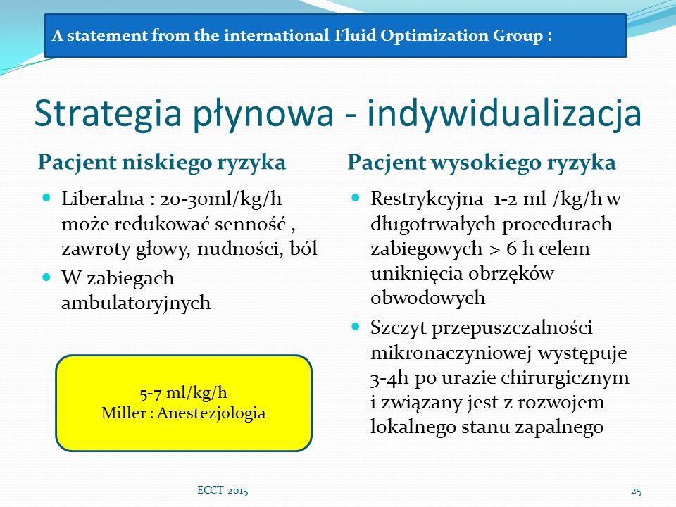 Strategia płynowa - indywidualizacja