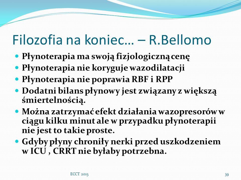 Filozofia na koniec… – R.Bellomo