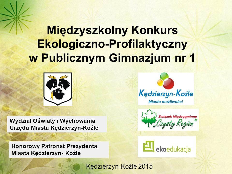 Międzyszkolny Konkurs Ekologiczno-Profilaktyczny w Publicznym Gimnazjum nr 1