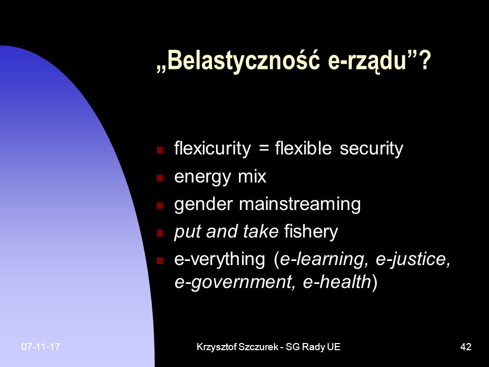 """""""Belastyczność e-rządu"""