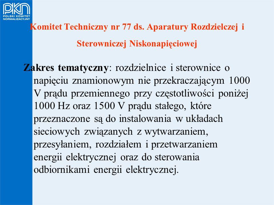 Komitet Techniczny nr 77 ds