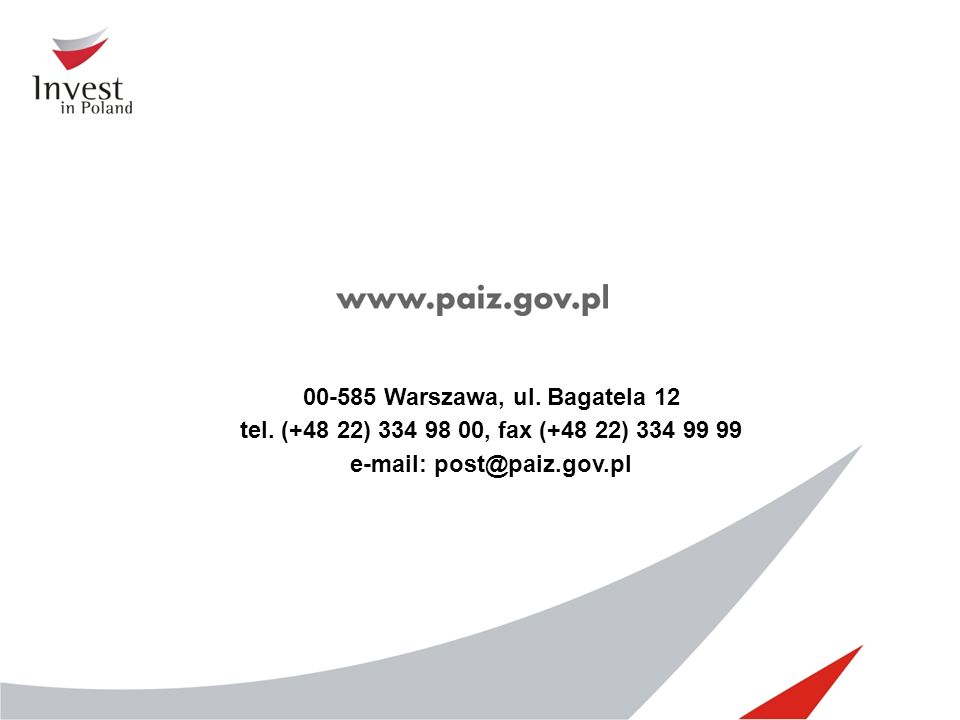 e-mail: post@paiz.gov.pl