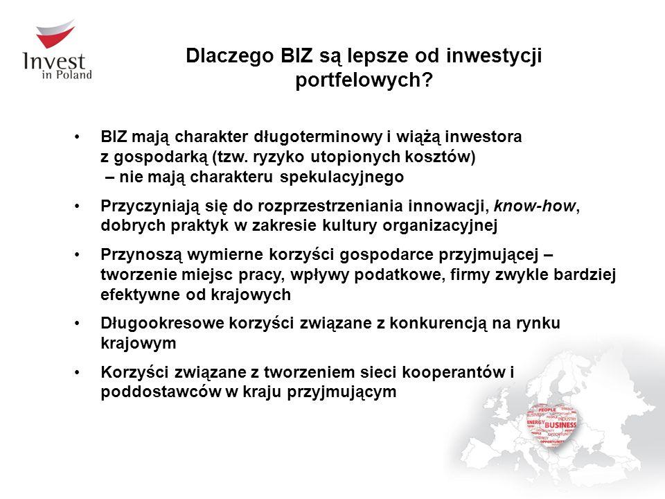 Dlaczego BIZ są lepsze od inwestycji portfelowych