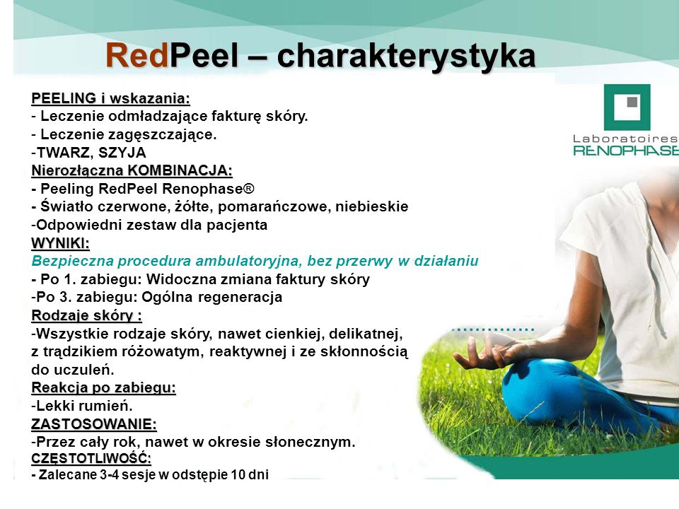 RedPeel – charakterystyka