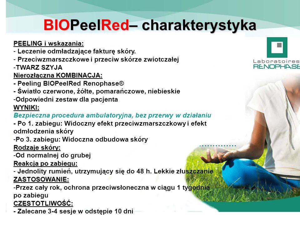 BIOPeelRed– charakterystyka