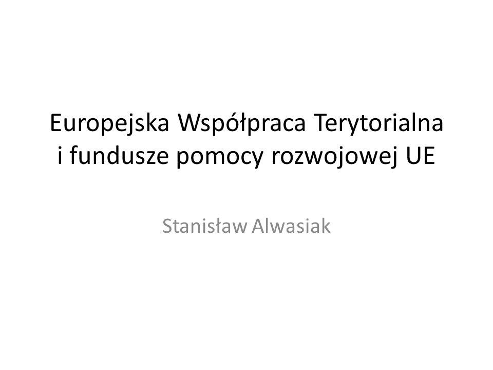 Europejska Współpraca Terytorialna i fundusze pomocy rozwojowej UE