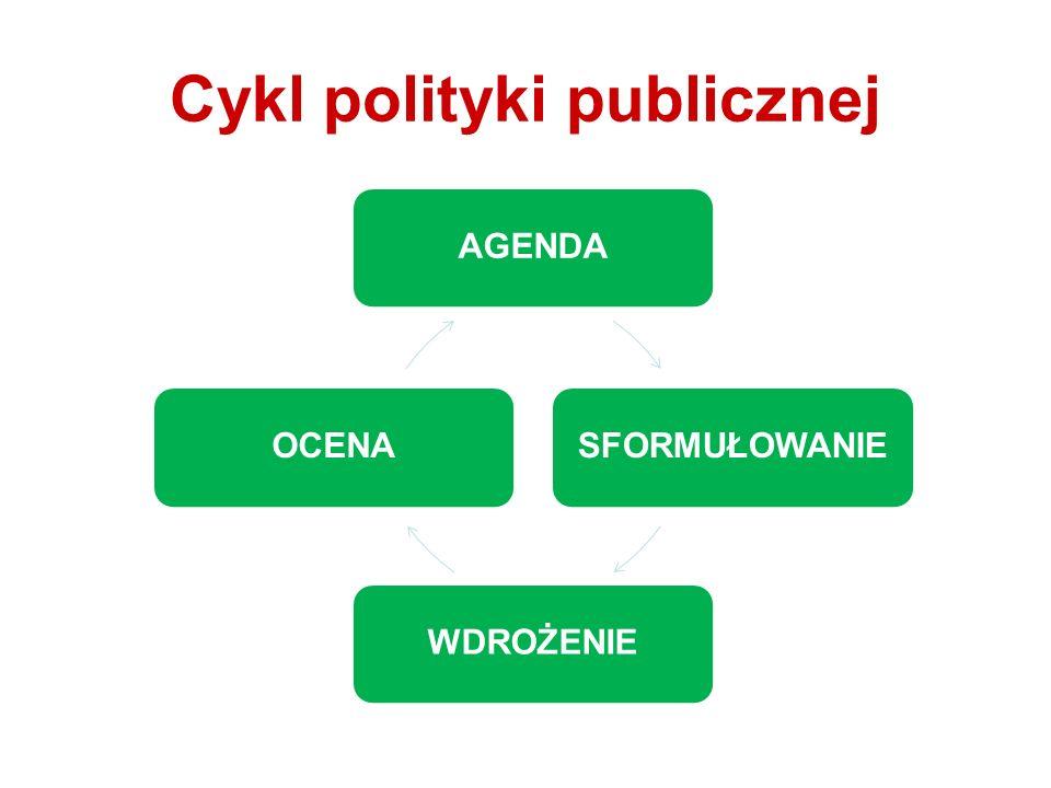 Cykl polityki publicznej