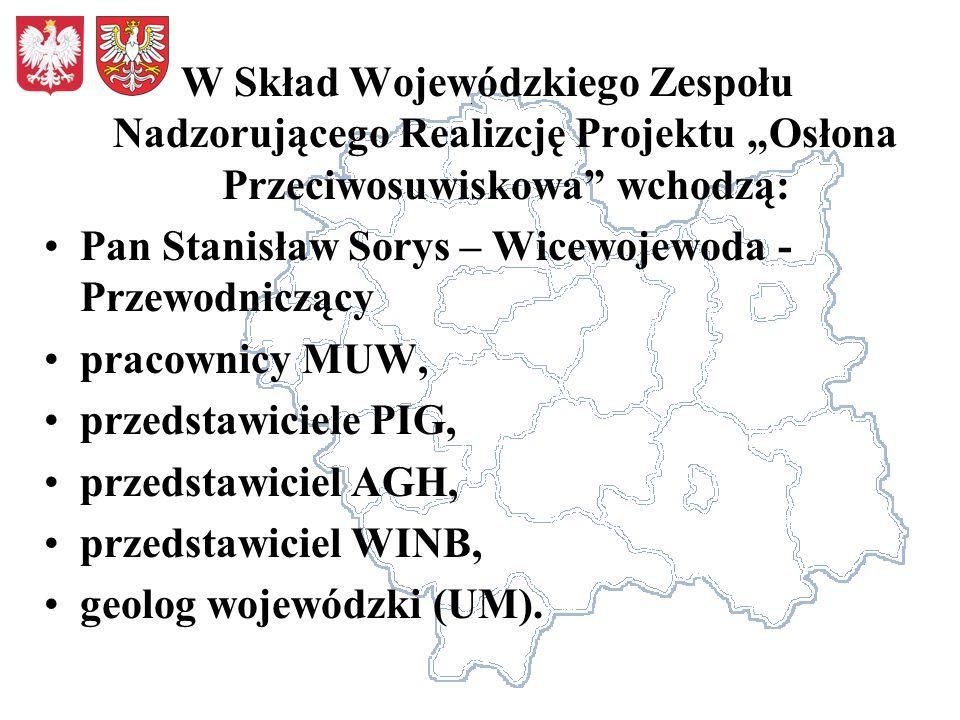 Pan Stanisław Sorys – Wicewojewoda -Przewodniczący pracownicy MUW,