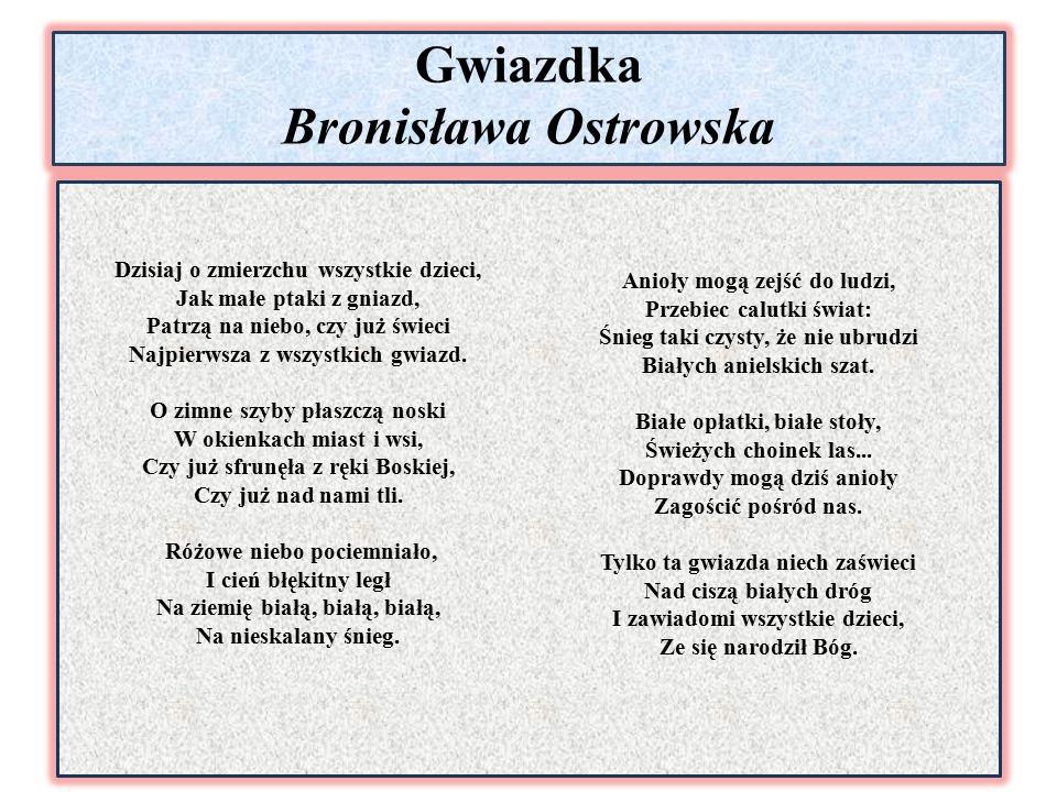 Gwiazdka Bronisława Ostrowska