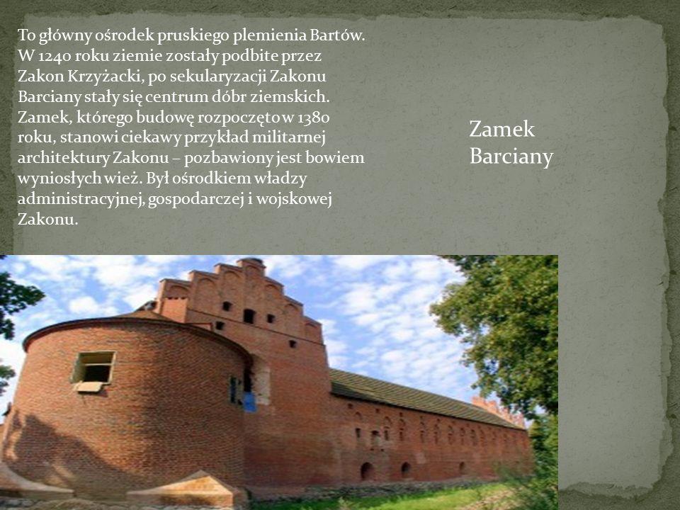 To główny ośrodek pruskiego plemienia Bartów