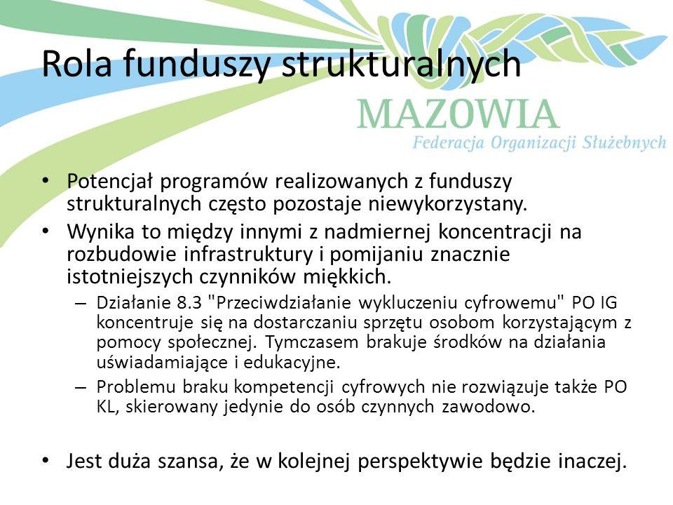 Rola funduszy strukturalnych
