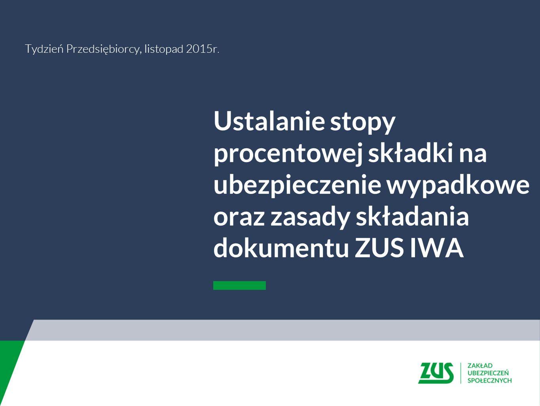 Tydzień Przedsiębiorcy, listopad 2015r.