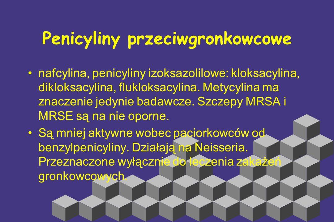 Penicyliny przeciwgronkowcowe
