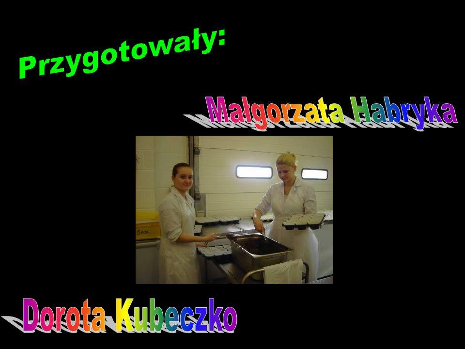 Przygotowały: Małgorzata Habryka Dorota Kubeczko