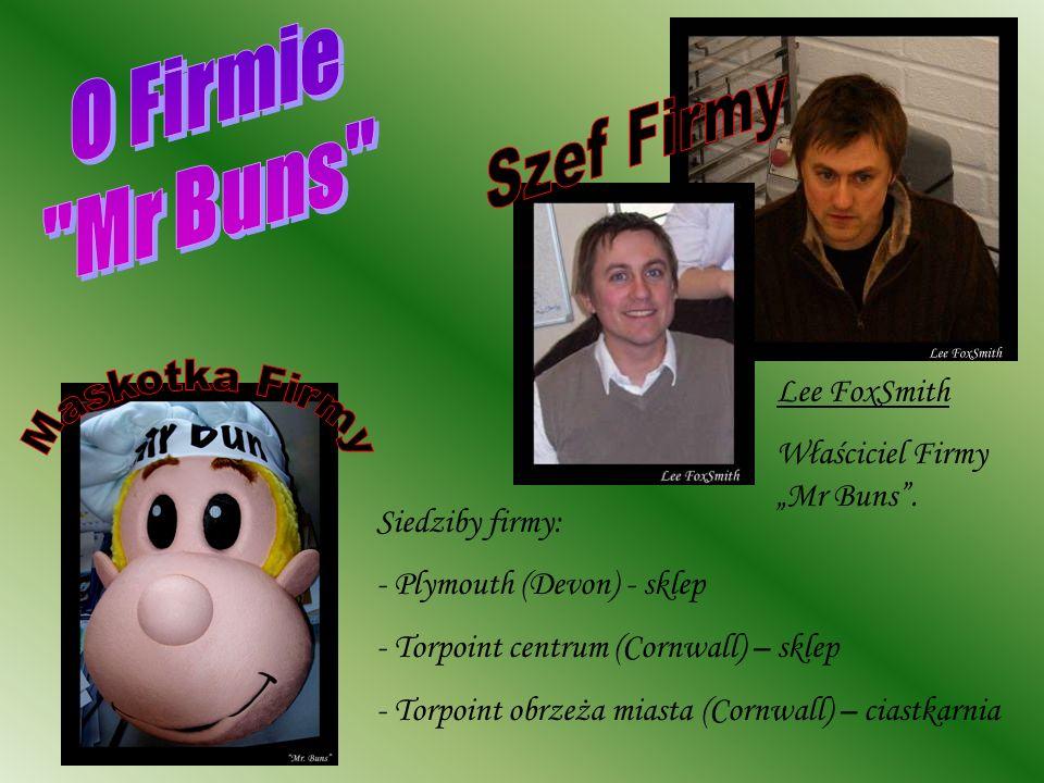 O Firmie Mr Buns Szef Firmy Maskotka Firmy Lee FoxSmith