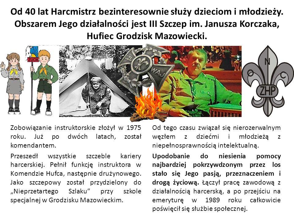Od 40 lat Harcmistrz bezinteresownie służy dzieciom i młodzieży