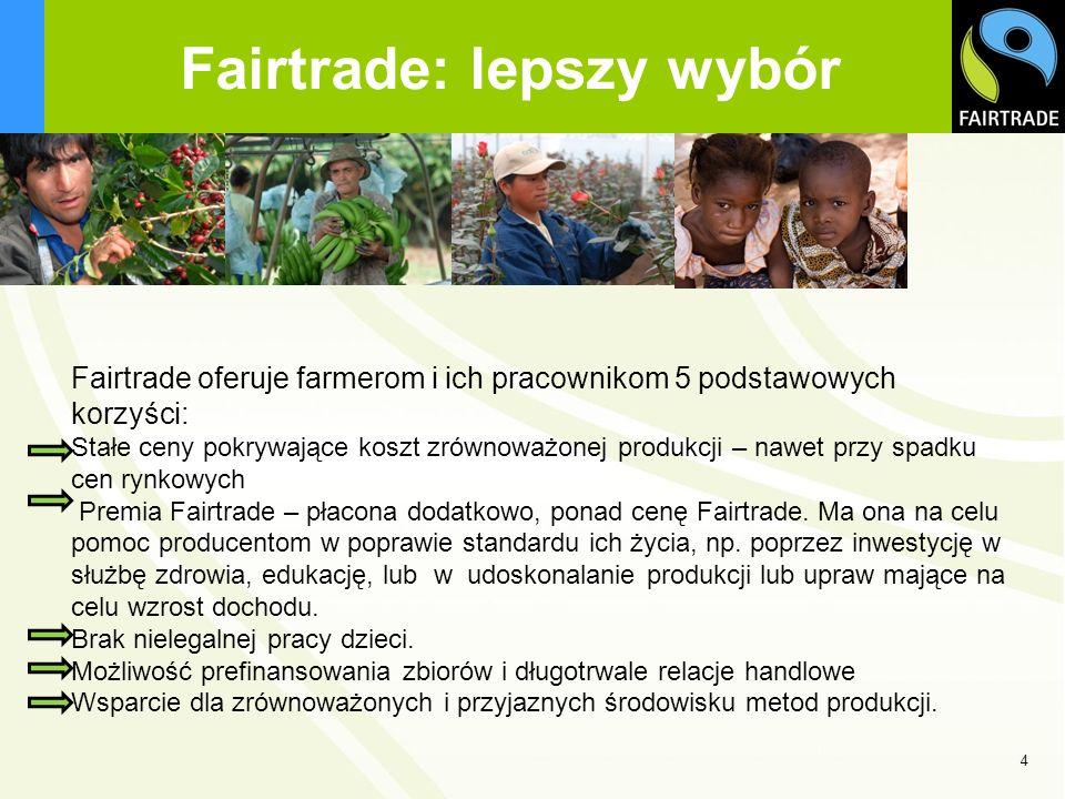 Fairtrade: lepszy wybór