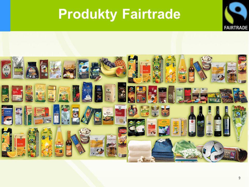Produkty Fairtrade