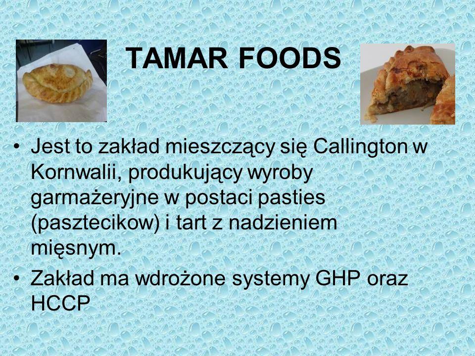 TAMAR FOODS