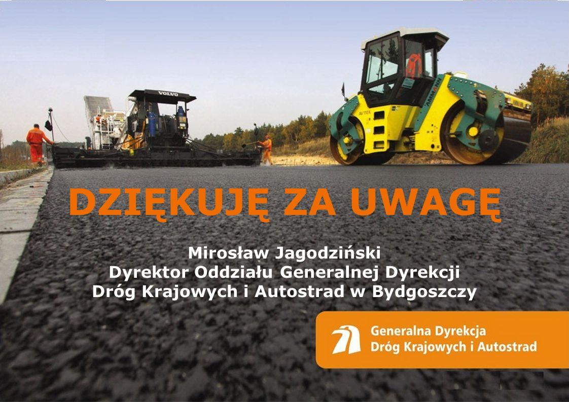 DZIĘKUJĘ ZA UWAGĘ Mirosław Jagodziński