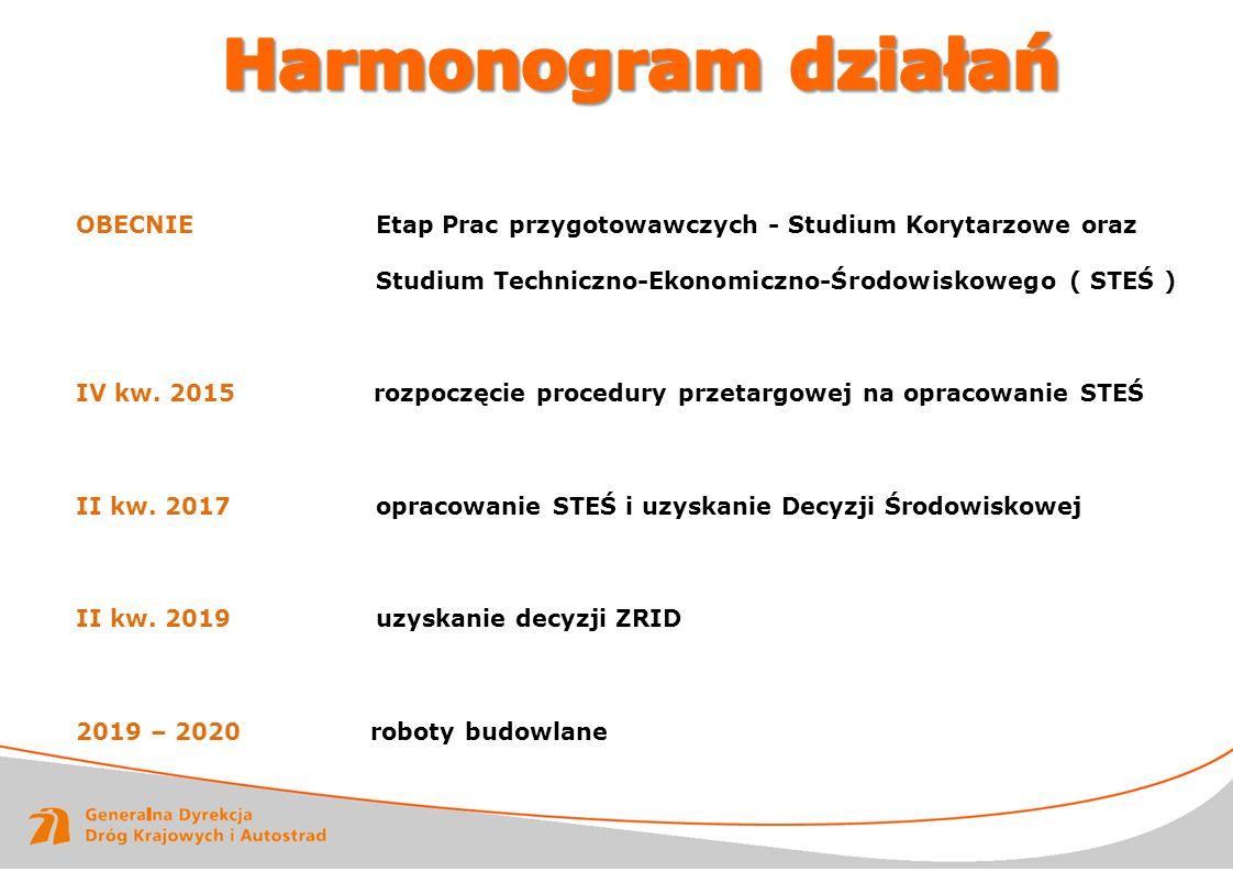 Harmonogram działań RAPORT ROCZNY 2011