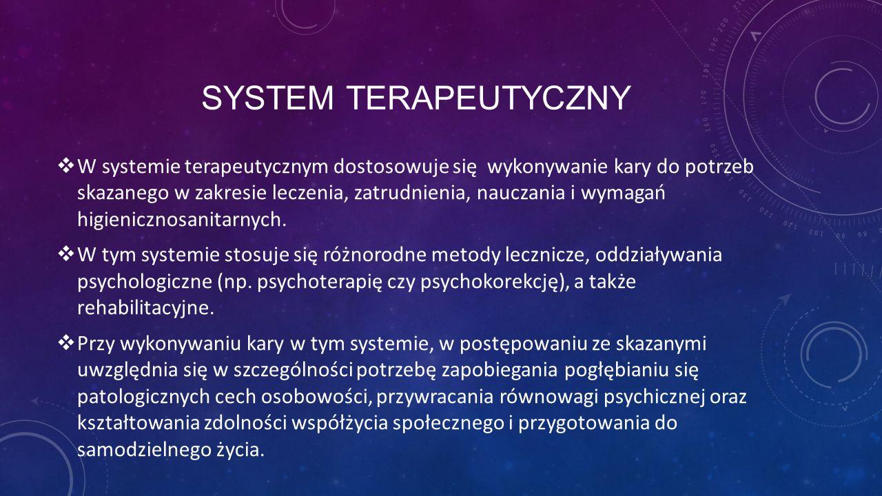 System terapeutyczny